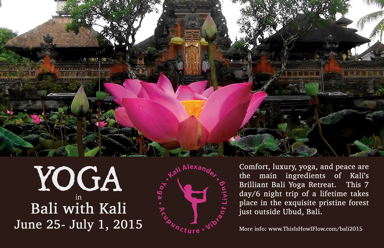 Brilliant Bali Retreat With Kali