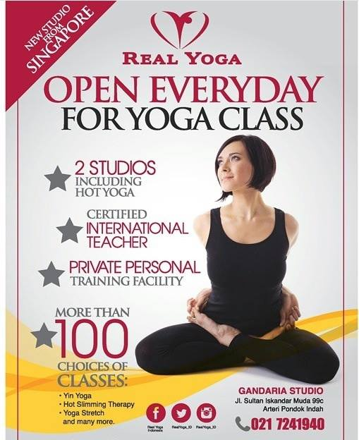 Real Yoga Is Offering More Than 100 Choices Of Yoga Classes