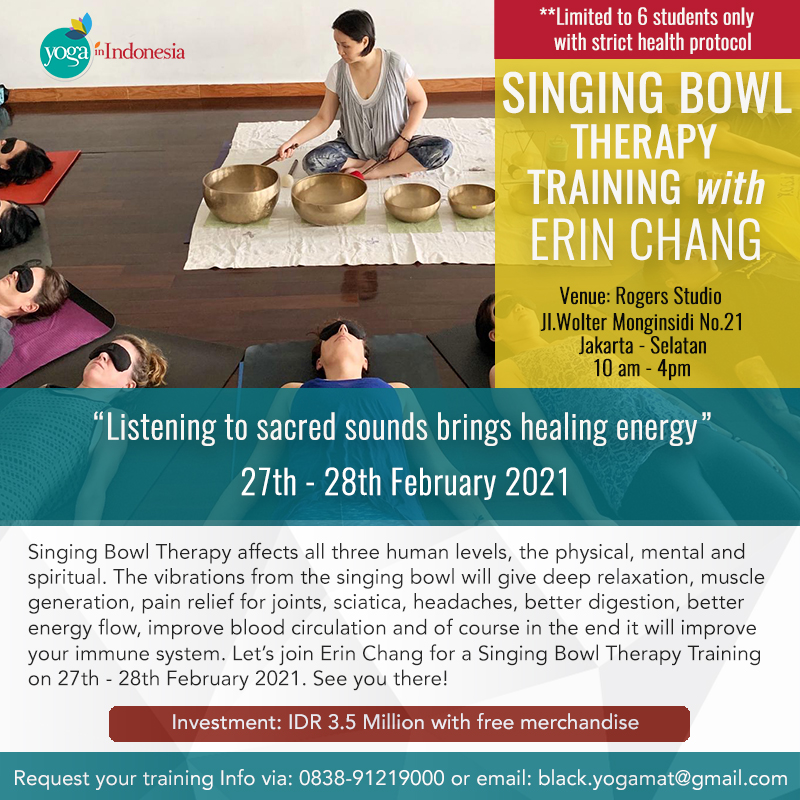 Singing Bowl Therapy Training with Erin Chang