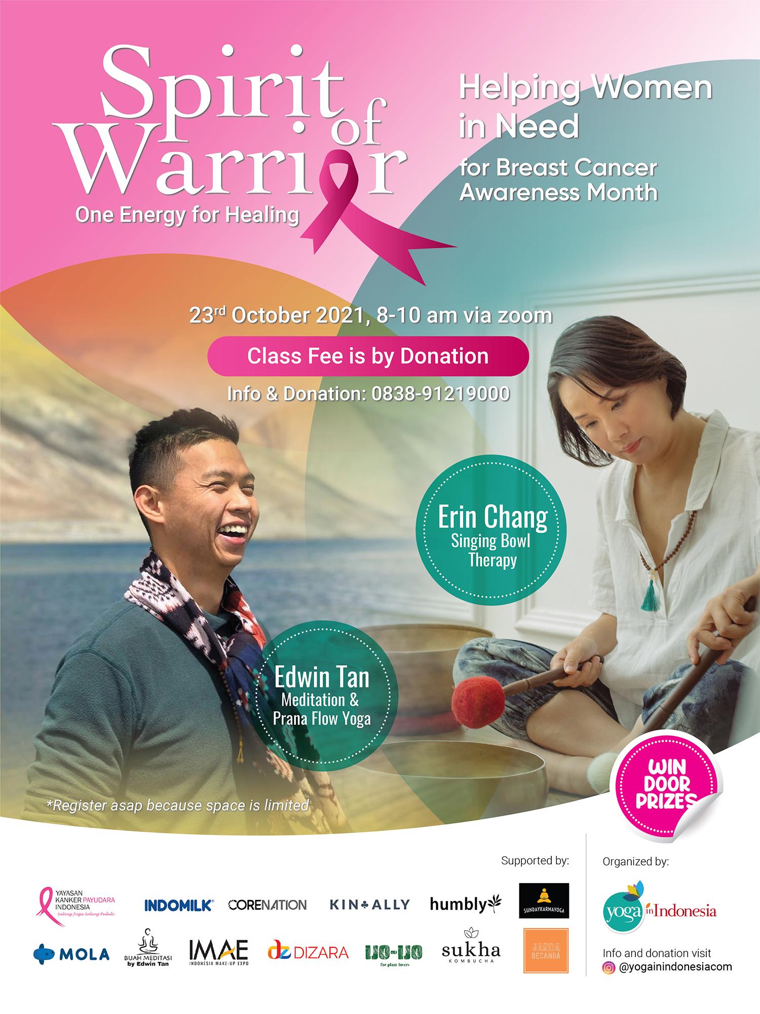Spirit of Warrior untuk memperingati Breast Cancer Awareness Month