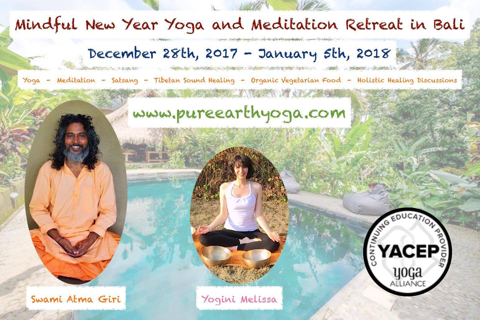 Mindful New Year Yoga And Meditation Retreat in Bali