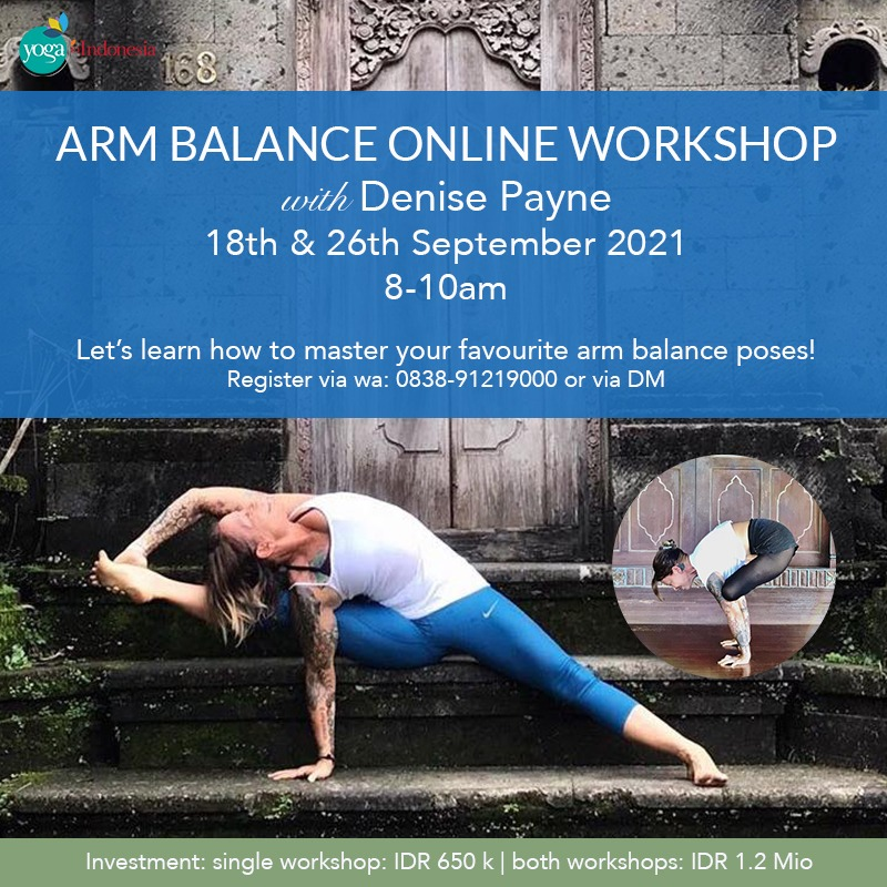 Arm Balance Workshop with Denise Payne