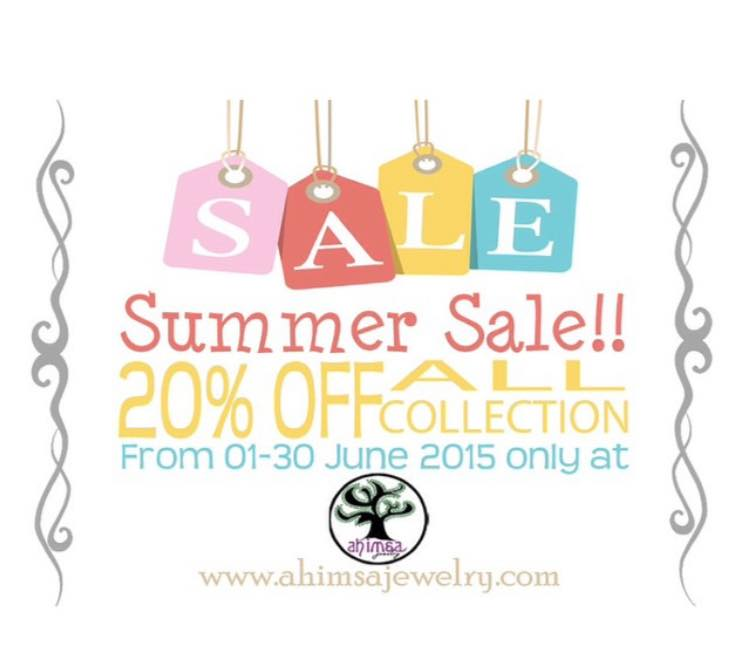 Summer Sale At Ahimsa Jewelry